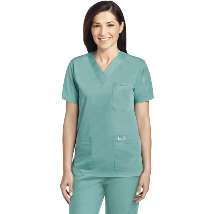 V Neck Scrub Top MOBB *CLEARANCE SALE* 520T