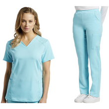 Load image into Gallery viewer, SET* 778 FIT V-neck Top & 390 FIT Cargo Pant  *CLEARANCE SALE*
