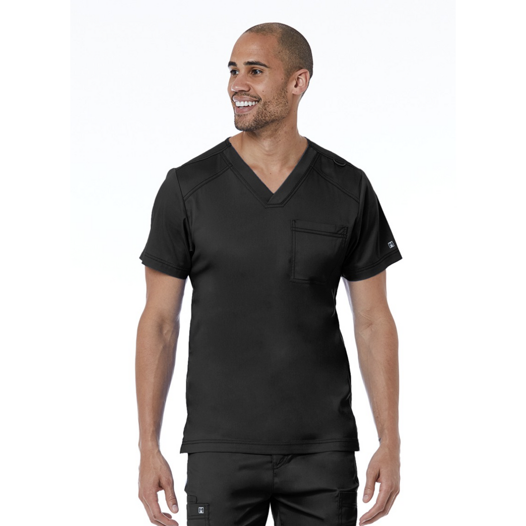 Men's Basic V-Neck Top 5501