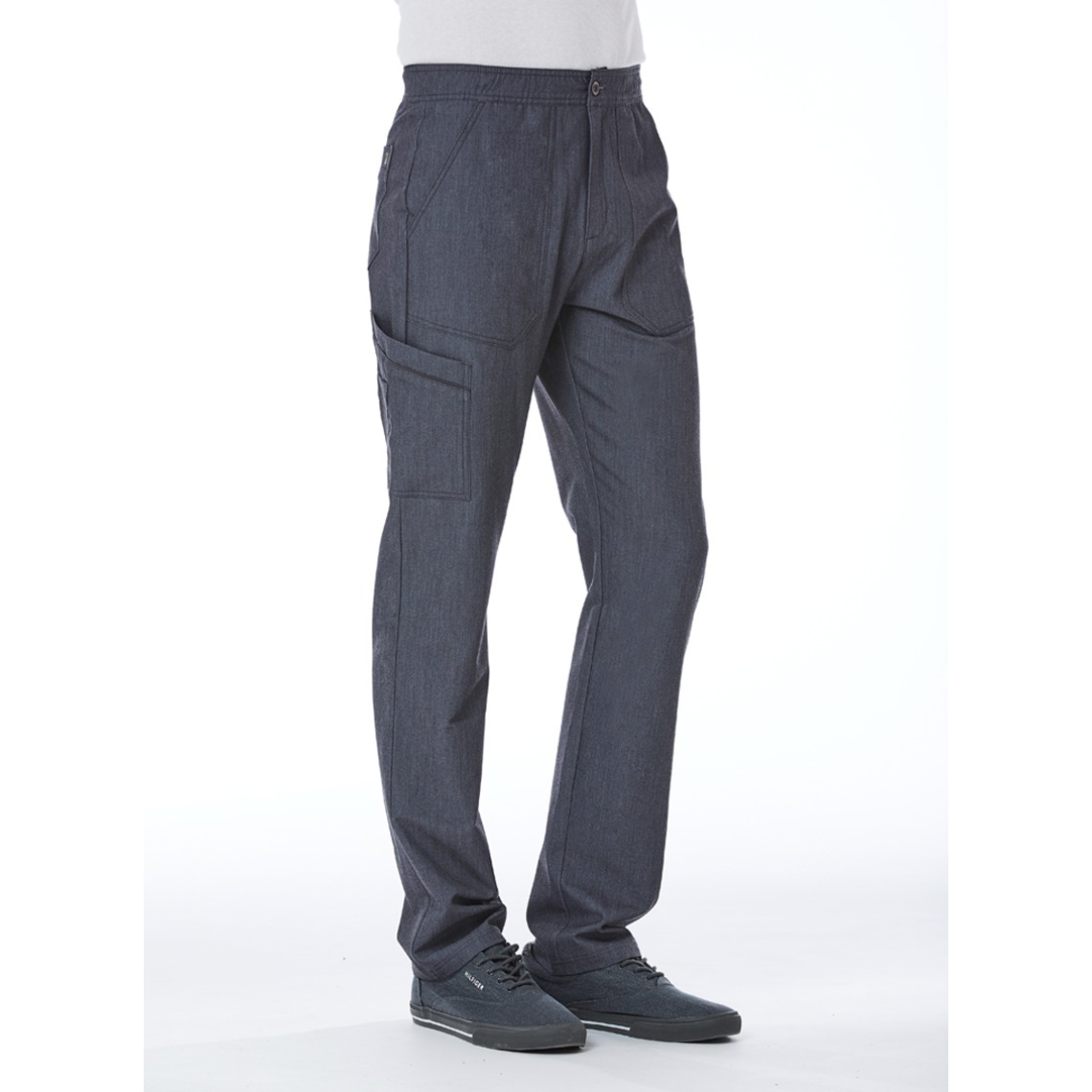 Men's Contrast Piping Cargo Pant 8901 INSEAM 31''