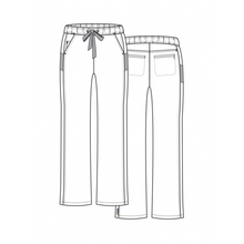 Load image into Gallery viewer, Sporty Mesh Panel Pant 7318T Tall INSEAM 33''