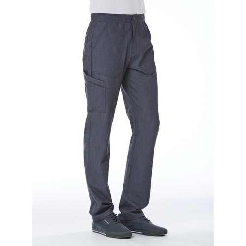 Men's Contrast Piping Cargo Pant 8901S Short INSEAM 28''