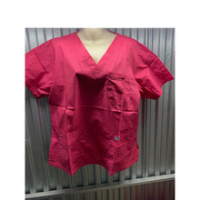 Load image into Gallery viewer, MOBB V-Neck Print Scrub Top with 5 pockets (Big FIT)  *CLEARANCE*  320T SALE