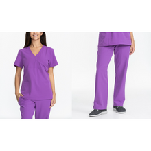 Load image into Gallery viewer, SET* KLW18B2/KLW18T1 Bliss pant & Stretch Scrub JUBILLE TOP *Antimicrobial* *NEW*