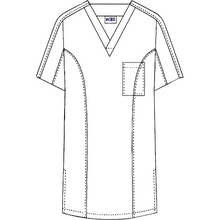 Load image into Gallery viewer, Men's Two Tone Scrub Top MOBB (409T)