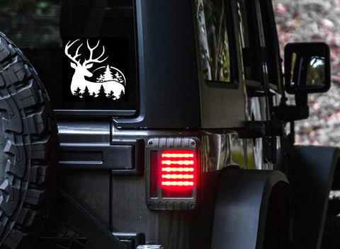 Deer Car Decal