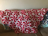 Peppermint Throw Blanket