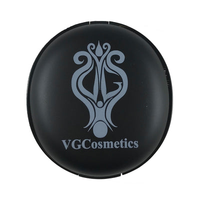 Round Compact With Touch Up Brush