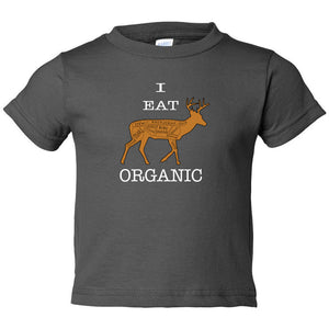 I Eat Organic Toddler Tee