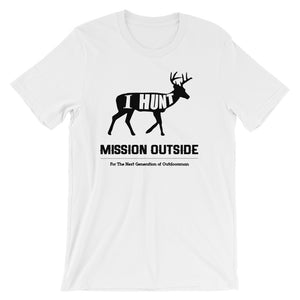 I Hunt Unisex short sleeve t-shirt