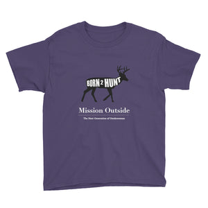 Born 2 Hunt Whitetail Youth T-Shirt