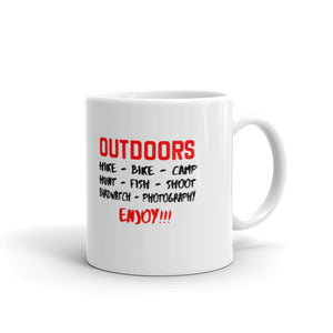 Enjoy the Outdoors Coffee mug
