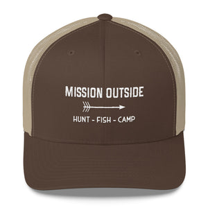 Mission Outside Trucker Cap
