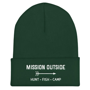 Mission Outside Cuffed Beanie