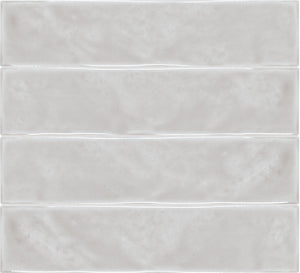 "Marlow Mist Glossy Ceramic 3""x12"" Wall Tile $2.97/sf 10.66 sf/box"