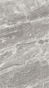 "Mayfair Stella Argento HD Polished Rectified Porcelain 12""x24"" Tile"