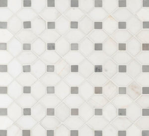 Bianco Dolomite Dotty - Backsplash
