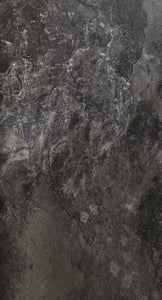 Ebony Slate Luxury Vinyl Floor Tile (pad attached)