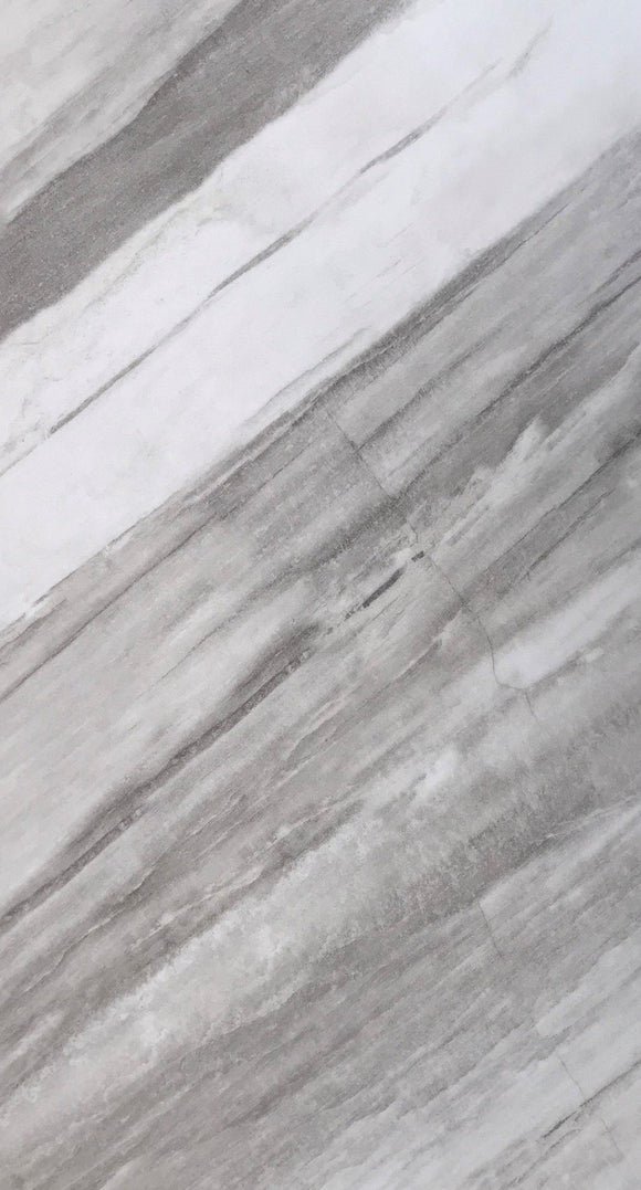 Glacier Marble Luxury Vinyl Floor Tile (pad attached)
