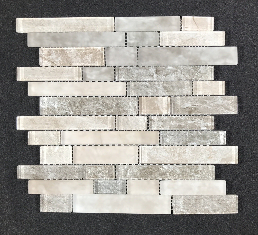 Savoy Interlocking Pattern 8mm - Backsplash