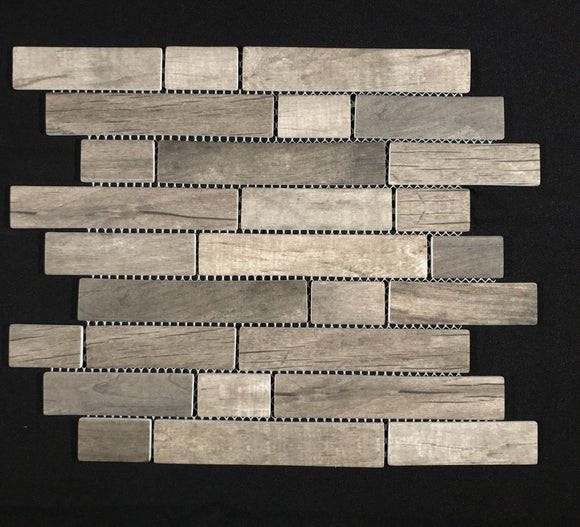 Driftwood Interlocking 6mm - Backsplash