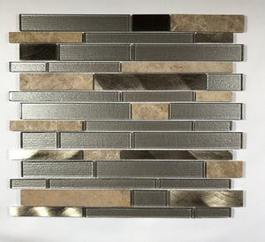 Champagne Toast Interlocking - Backsplash