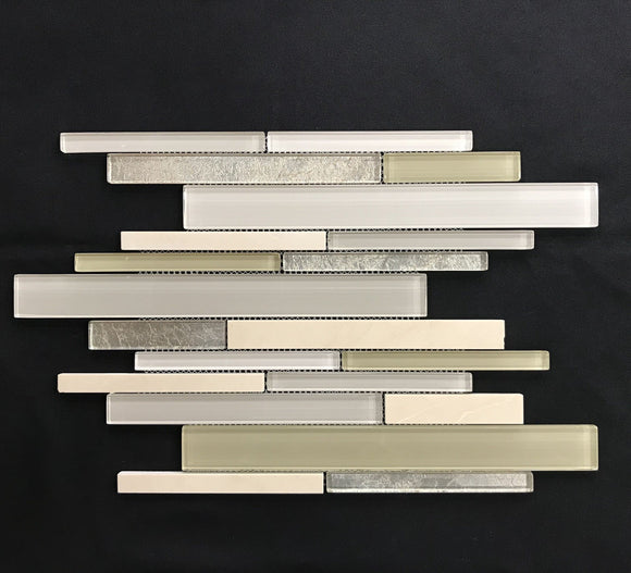 Tuscany Crema Classic Random Strip - Backsplash