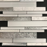 Tuscany Silver Lake Random Strip - Backsplash
