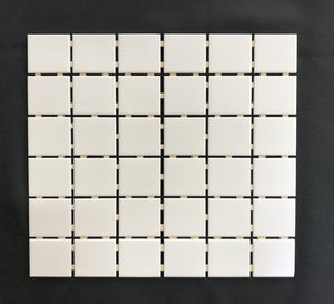 Soho White Matte 2 x 2 Porcelain - Backsplash