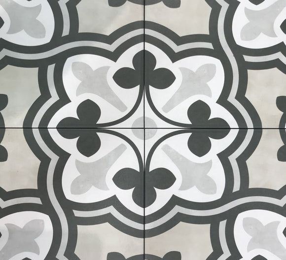 Form Sand Baroque Deco Porcelain 8 x 8 Tile $2.97/sf 7.32 sf/box