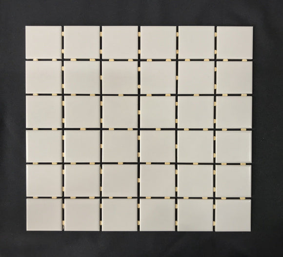 Soho Warm Grey Matte 2 x 2 Porcelain - Backsplash
