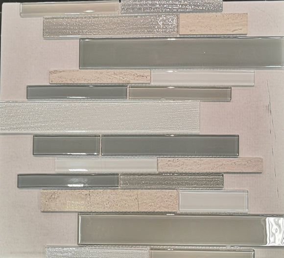 Warm Winter Glass Backsplash Tile