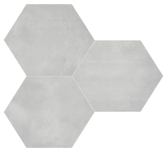Form Ice Hexagon Porcelain 7 x 8 Tile