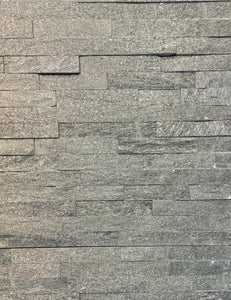 "Black Quartzite Ledge Stone - 6"" x 24"" $4.89/sf 7.1 sf/box"