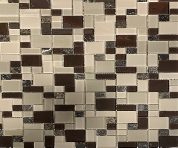 Cappuccino Glass - Backsplash