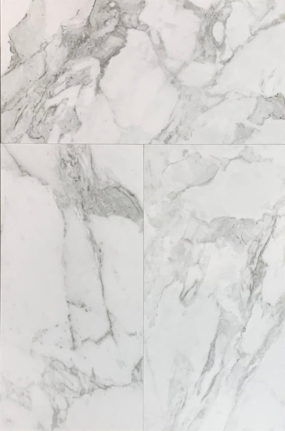 "La Marca Arabescato Honed 12""x 24"" Porcelain Tile $3.59/sf 15.5 sf/box"