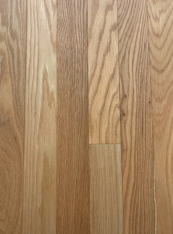 Solid Red Oak Canadian Plus