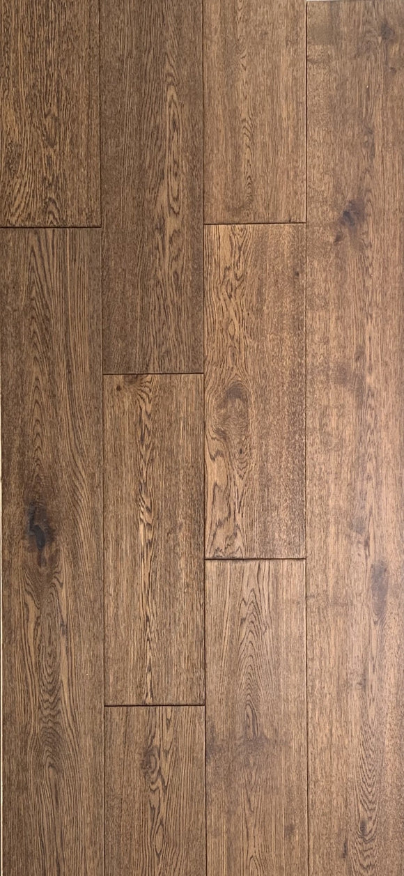 Engineered Oak Hardwood - Sandy Brown