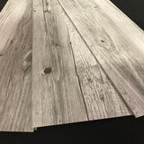 Snow Pine Luxury Vinyl Planks (pad attached)