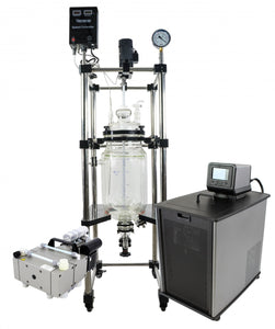 10L Best Value Double Jacketed Glass Reactor Turnkey Setup