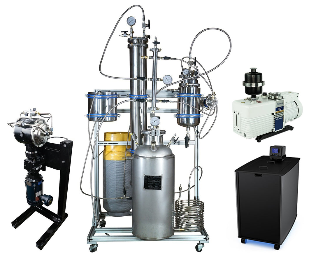 10LB Active PSI Certified Closed Loop Extraction System