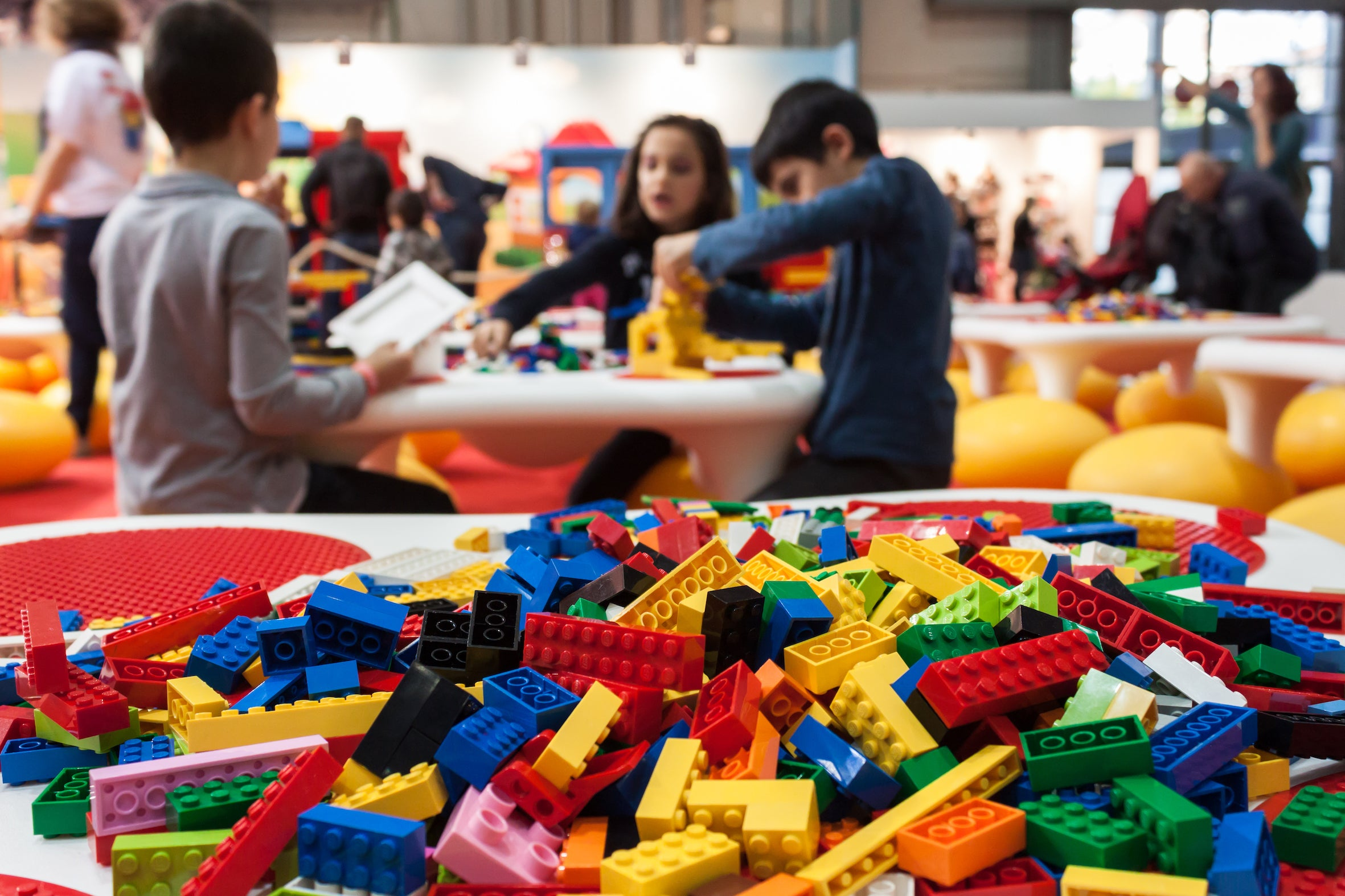 How (and why) to start a lunchtime LEGO club