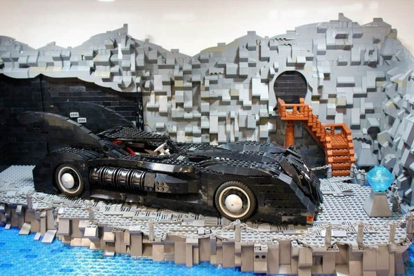 Batmobile, Star Wars' R2-D2, Ghostbusters LEGO made