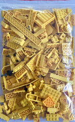 LEGO 500g mixed bag of YELLOW parts, bricks and more!