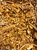 LEGO GOLD!  Little Bags of mixed GOLD!