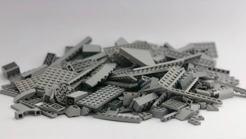 LEGO™ 500g mixed bag of LIGHT GREYS parts