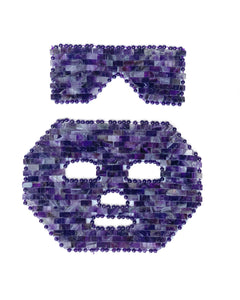 AMETHYST CRYSTAL MASK