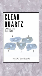 CLEAR QUARTZ (LARGE)