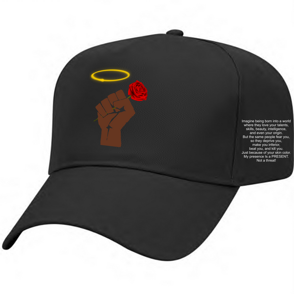 SO BEAUTIFUL SO BLACK FIST HAT