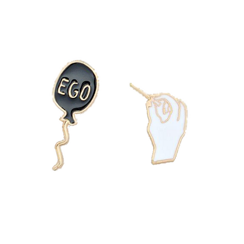 Pop Your Ego Pin - Tumblr Pins and Patches - Peachy Pins